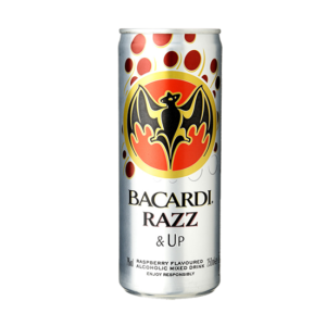 Bacardi Razz & up 25cl
