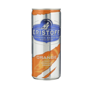 Eristoff Vodka met jus d'orange 25cl