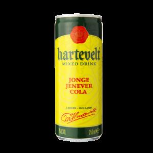 Hartevelt Jonge jenever cola 25cl