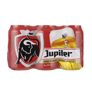 Jupiler Pils blik 6 x 33cl