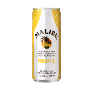 Malibu & Pineapple 25cl