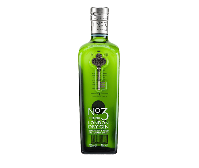 No:3 London Dry Gin 70cl 1