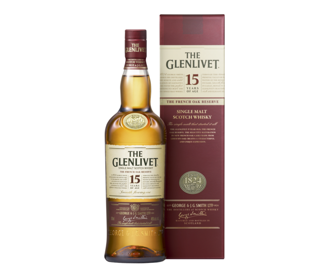 The Glenlivet 15 Years 70cl 1